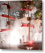 Treasure Island Flashes Metal Print
