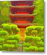 Treasure Tower Metal Print