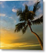 Tree Against Sky Metal Print