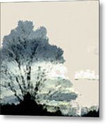 Tree Along The Way Metal Print