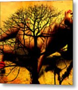 Tree And Her Metal Print