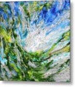 Tree And Sky Metal Print