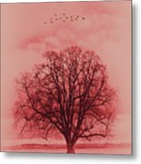 Tree Art 01 Metal Print