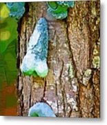 Tree Being Metal Print