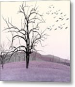 Tree Change Metal Print