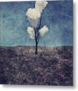 Tree Clouds 01d2 Metal Print