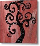 Tree I Wr Metal Print