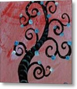 Tree II Wr Metal Print