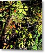 Tree Light Metal Print
