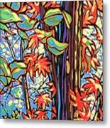 Tree Long Metal Print