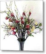Tree Magnolias Metal Print