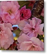 Tree Of Flowers Metal Print