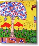 Tree Of Freedom And Glory Metal Print