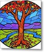 Tree Of Grace - Autumn Metal Print