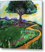 Tree Of Imagination Metal Print