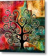 Tree Of Life Metal Print by Jaison Cianelli