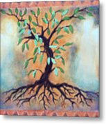 Tree Of Life Metal Print by Kathy Braud