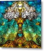 Tree Of Life Metal Print by Mandie Manzano