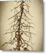 Tree Of Rust Metal Print