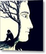 Tree Of Self Insight Metal Print