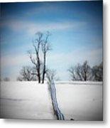 Tree On A Hill Metal Print by Joyce Kimble Smith