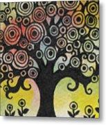 Tree Song Metal Print
