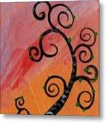 Tree V Wr Metal Print