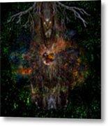 Tree Wizard Metal Print