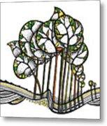 Treeland Metal Print