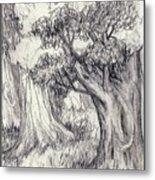 Trees 2 Metal Print
