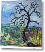Tree's End Metal Print
