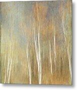 Trees Ethereal Grove Metal Print