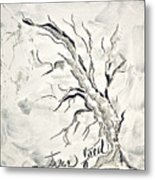 Trees Feed Metal Print