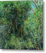 Trees Of Kokee Metal Print