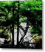 Trees Of Spring Metal Print