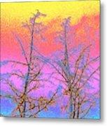 Treetops 1 Metal Print