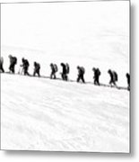 Trekking - Id 16235-142817-3386 Metal Print