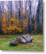 Trench Rocks Metal Print