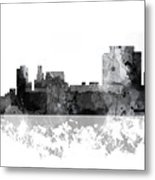Trenton New Jersey Skyline Metal Print