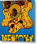 Trentotex Fabrics Metal Print