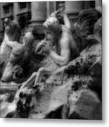 Trevi Fountain Detail 2 Metal Print