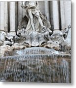Trevi Fountain Rome Metal Print
