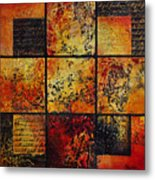 Trial By Fire Metal Print