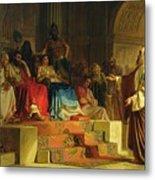 Trial Of The Apostle Paul Metal Print