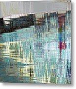 Triangle Lake Metal Print