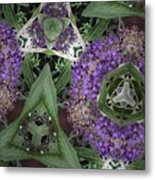 Triangle Surrounded Metal Print