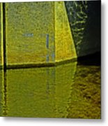 Triangles, Rectangles Lines And Refletcions  Metal Print