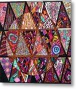 Triangularia Metal Print