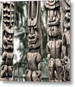 Tribal Council Metal Print