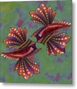 Tribal Sea Creature 1 Metal Print